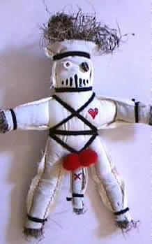 muñeco vudu hombre para amarres de amor y hechizos de amor